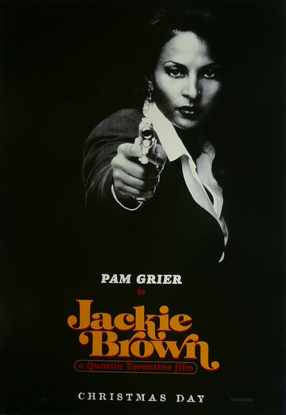 Jackie Brown Pam Grier Movie Poster