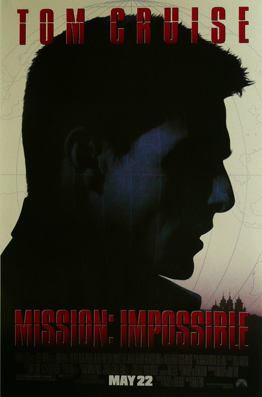 Mission Impossible Tom Cruise Movie Poster