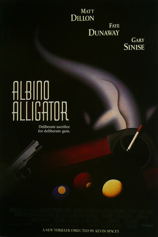 Albino Alligator Matt Dillon Faye Dunaway Gary Sinise Movie Poster