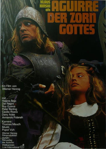Aguirre der Zorn Gottes (Aguirre, the Wrath of God) Klaus Kinski (German) Movie Poster Framed Picture