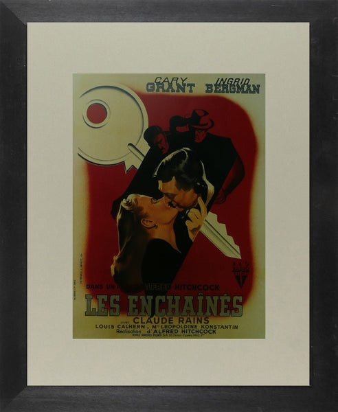 Les Enchaines (4) Cary Grant (French) Movie Poster Picture