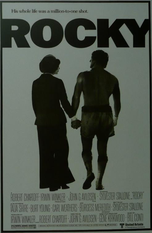 Rocky (2) Sylvester Stallone Movie Poster Picture