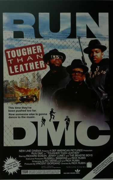 Tougher than Leather (2) Run DMC Movie Poster Picture