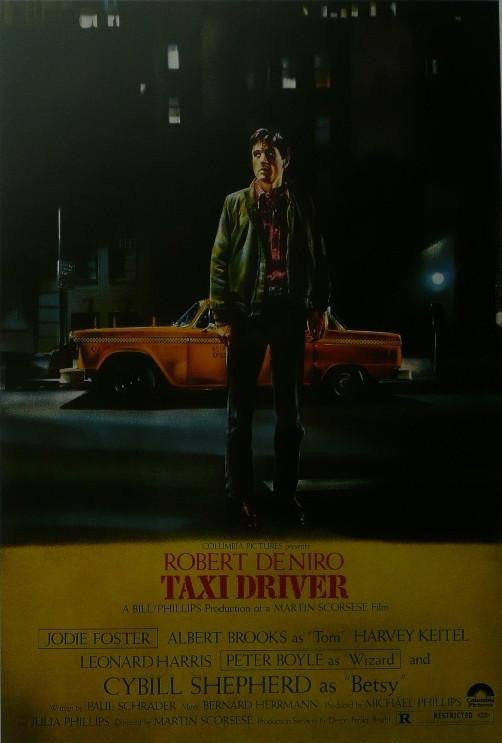 Taxi Driver (2) Robert De Niro Movie Poster Picture