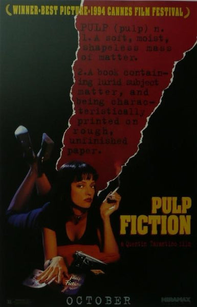 Pulp Fiction (2) Quentin Tarantino Movie Poster Picture
