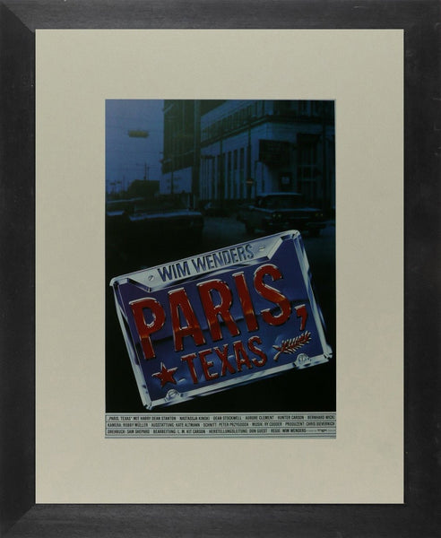 Paris, Texas (2) Harry Dean Stanton (German) Movie Poster Picture