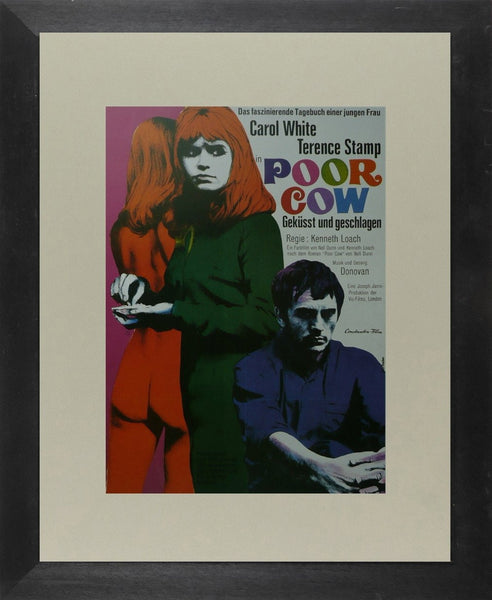 Poor Cow (2) Carlo White / Terence Stamp (German) Movie Poster Picture