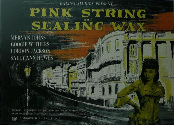 Pink String & Sealing Wax Mervyn Johns / Googie Withers Movie Poster Picture