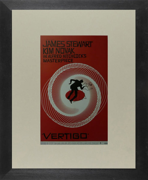 Vertigo (3) James Stewart  / Kim Novak Movie Poster Picture