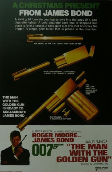The Man with the Golden Gun (5) (James Bond) Roger Moore Movie Poster Picture