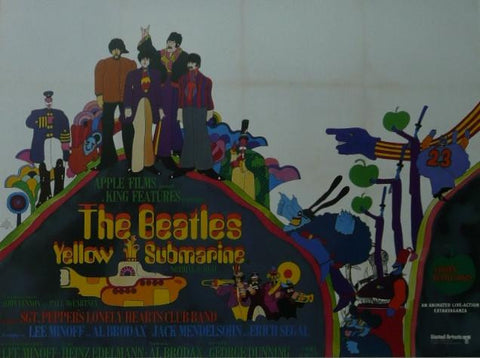 Yellow Submarine The Beatles Movie Poster Picture