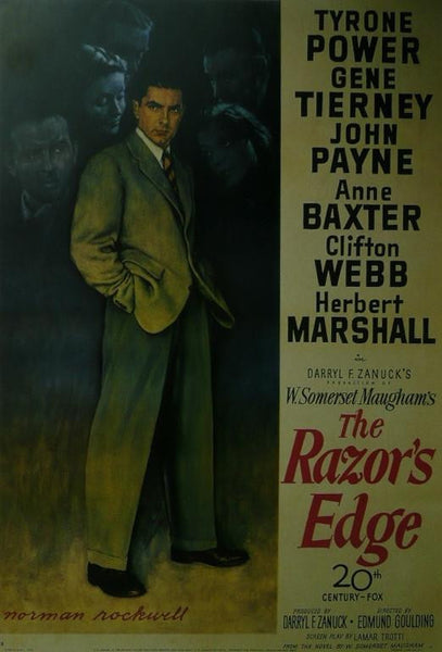 The Razor's Edge (2) Tyrone Power / Gene Tierney Movie Poster Picture