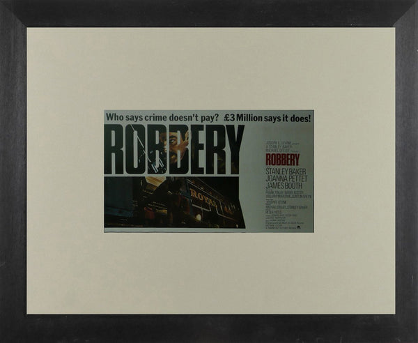 Robbery Stanley Baker Movie Poster Picture