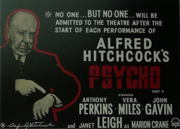 Psycho (2) Anthony Perkins Movie Poster Picture