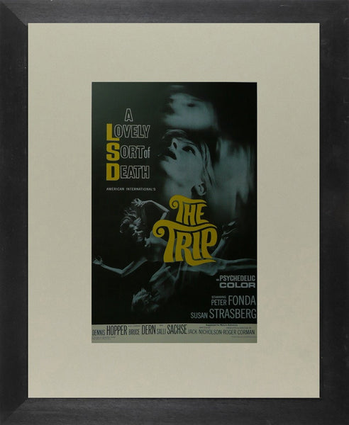 The Trip (2) Peter Fonda / Dennis Hopper Movie Poster Picture