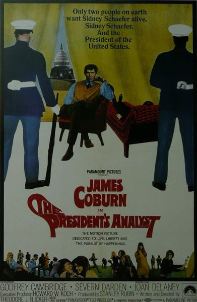 The President's Analyst (2) James Coburn Movie Poster Picture