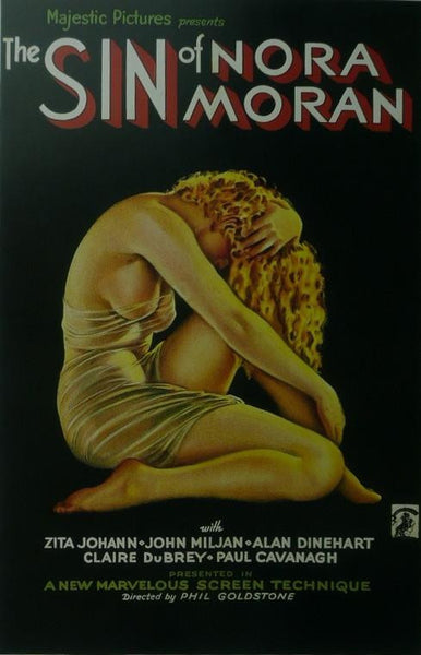 The Sin of Norma Moran Zita Johann Movie Poster Picture