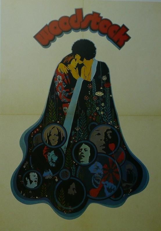 Woodstock Movie Poster Picture