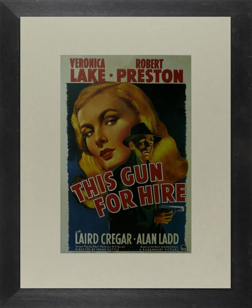 This Gun for Hire (2) Veronica Lake / Robert Preston Movie Poster Picture