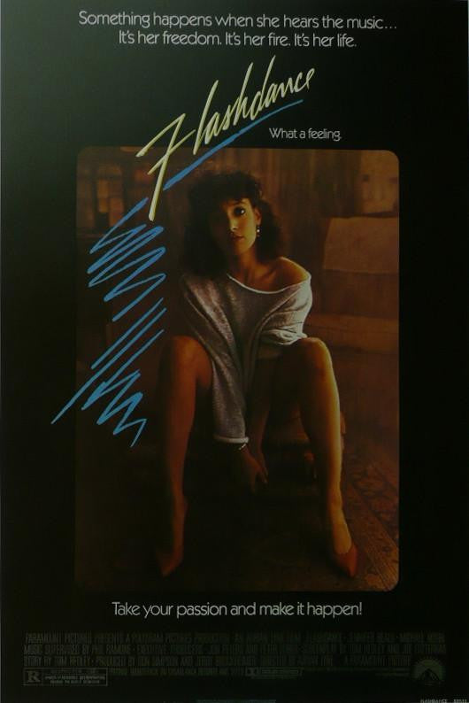 Flashdance (2) Jennifer Beals Movie Poster Picture