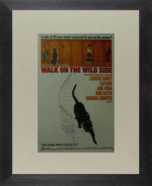 Walk on the Wild Side (2) Laurence Harvey / Capucine Movie Poster Picture