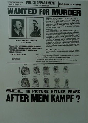 After Mein Kampf  Jonathan Farwell Movie Poster Picture