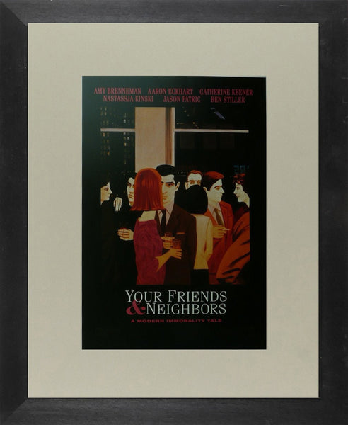 Your Friends & Neighbours (2) Amy Brenneman / Aaron Eckhart Movie Poster Picture