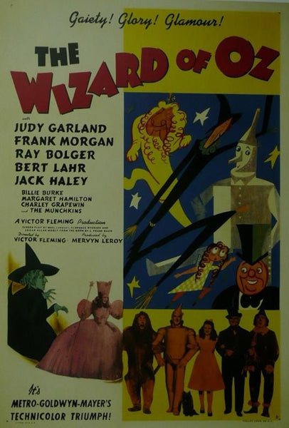 The Wizard of Oz Judy Garland Movie Poster Picture