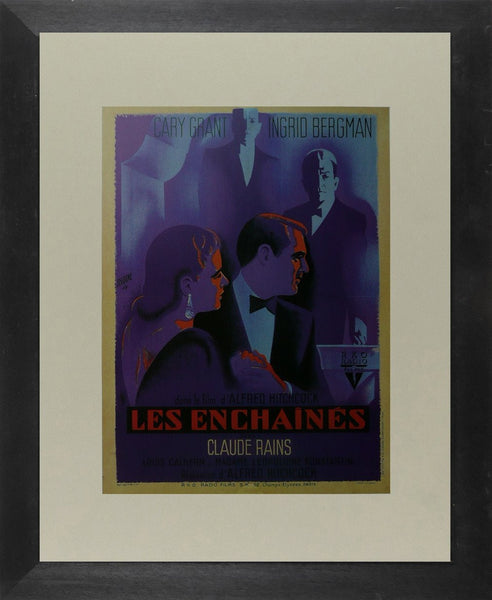 Les Enchaines (Notorious) (2) Cary Grant (French) Movie Poster Picture