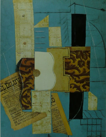 Abstract Guitar Picasso