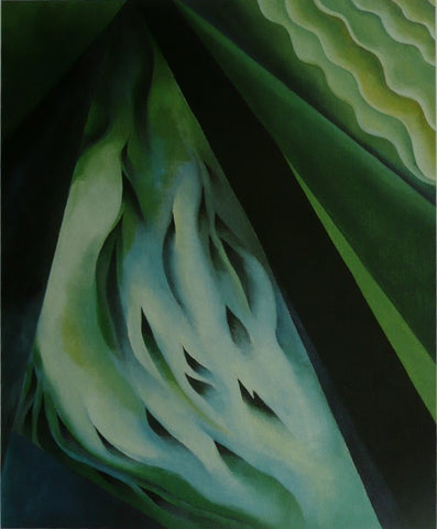Blue & Green music Georgia O'keeffe
