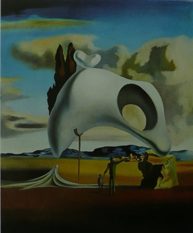 Atavistic Ruins after the Rain (1934) Salvador Dalí