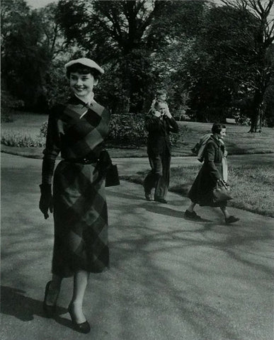 Audrey Hepburn We Take A Girl To Look For Spring Kew Gardens by Bert Hardy (1)