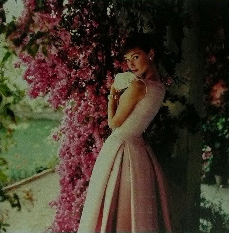 Audrey Hepburn Givenchy 1955 Pink Dress