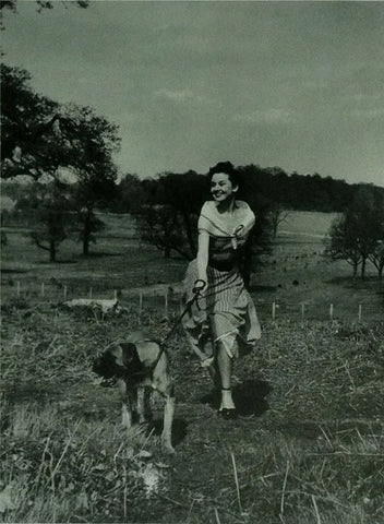 Audrey Hepburn We Take A Girl To Look For Spring Richmond Park by Bert Hardy