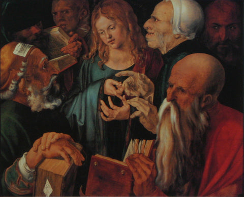 Christ among the Doctors Durer