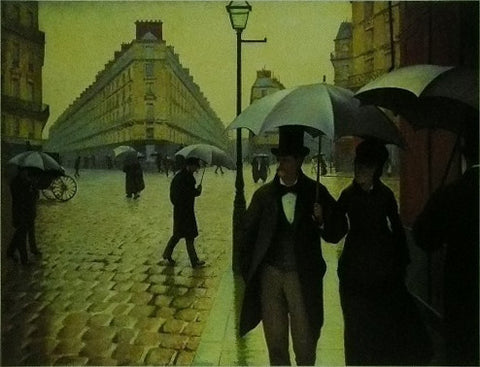 A Rainy Day (1876 77) Caillebotte