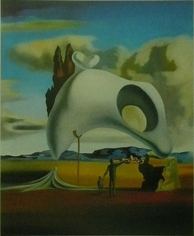 Atavistic vestiges after the rain (1934) Salvador Dali