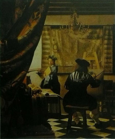 A painter in his studio Johannes Vermeer