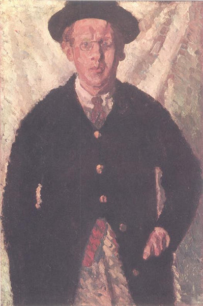 Self portrait (1909) Sir Matthew Smith