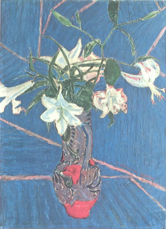 Lilies (1913) Sir Matthew Smith