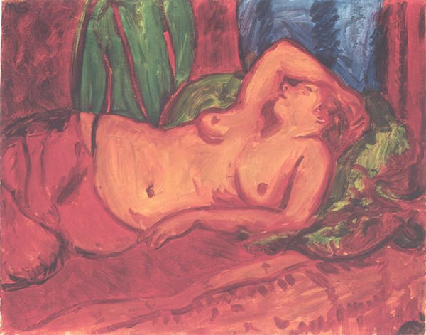 Reclining Nude (1924) Sir Matthew Smith