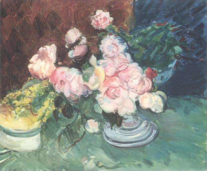 Pale Pink Roses (1929) Sir Matthew Smith
