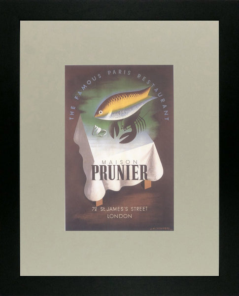Maison Prunier 72 St James's Street 1934 Cassandre (Art Deco Advert)