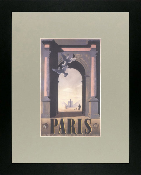 Paris 1935 Cassandre (Art Deco Advert)