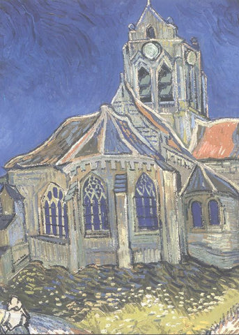 Blue Cathedral Van Gogh