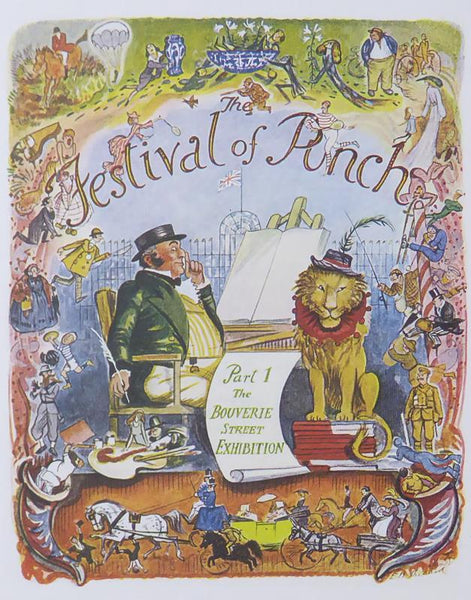 Punch Cartoon Art Festival of Punch Part 1, The Bouverie Street Exhibition Ernest Howard Shephard (1951)