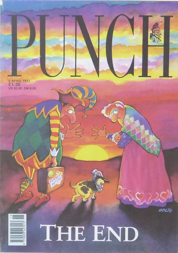 Punch Cartoon Art Punch The End Holte (Trevor Holder) (1992)