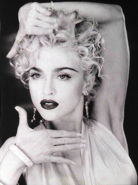 Madonna Vogue (black & white)