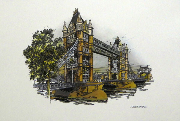 Tower Bridge Framed Print